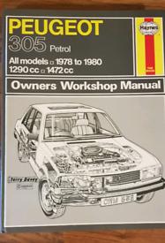 Haynes Manual Peugeot 305 Petrol