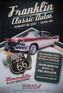 FRANKLIN CLASSIC AUTO AUCTION