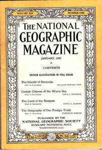 Rare! Genuine National Geographic Magazine Collection (1922 to 2