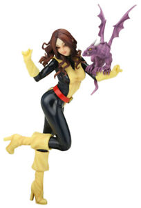 BISHOUJO LOT OF 3: HUNTRESS, BLACK CANARY & KITTY PRYDE