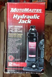 MotoMaster Hydraulic Jack 2 Ton--2 of them