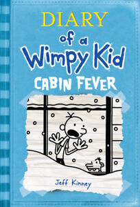DIARY OF A WIMPY KID CABIN FEVER HARDCOVER BOOK LIKE NEW!!!