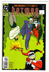 BATMAN ADVENTURES 28 COMIC BOOK  2ND APPEARANCE HARLEY QUINN