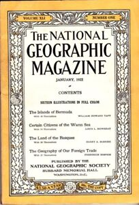 Genuine-Original National Geographic Mag. Collection (1922-2000)