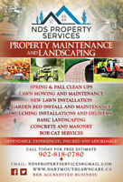 All Your Landscaping & Property Maintenance Covered!!