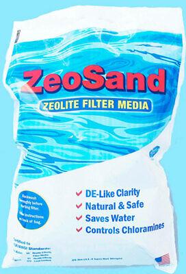 Zeosand Alternative Sand Media For Swimming Pool Sand Filter 25 lb Bag