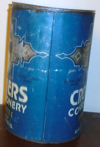 Vintage Advertising Tin Caruthers Confectionery Kingston Ontario Peterborough Peterborough Area image 4