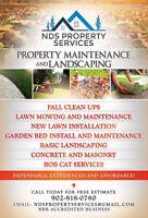 Landscaping & Concrete Services