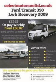 2009 Ford Transit 350 Lwb Recovery NO VAT 2.4
