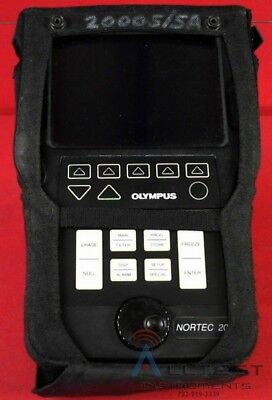 Nortec 2000s Olympus Eddy Current Flaw Detector Ndt Staveley