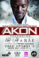 Akon Featuring Karl Wolf Live in Edmonton September 13th, 2015