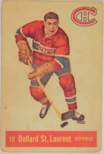 Vintage Montreal Canadiens/Toronto Maple Leafs Hockey Cards