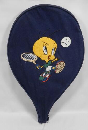 Vintage Warner Bros Looney Tunes Tweety Bird Tennis Racquet Cover Case