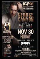 GEORGE CANYON CONCERT for the BICKELL FUND!