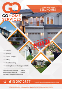 Window / Gutter Cleaning - GO Home Services