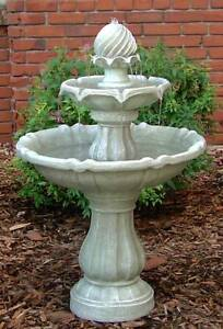 ACORN STYLE Belvedere GARDEN Water FOUNTAIN with Solar pump Athelstone Campbelltown Area Preview