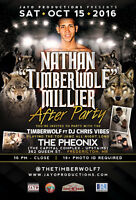 "Nathan ""timberwolf"" Millier AFTER PARTY ft. DJ CHRIS VIBES"