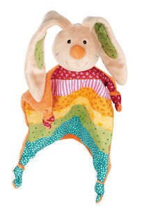 SIGIKID Schnuffeltuch/Schmusetuch Hase Rainbow Rabbit