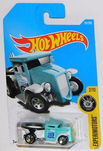 Hot Wheels 1/64 Gotta Go Toilet Diecast Car Aqua
