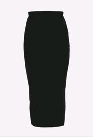 Maxi Jersey Skirt, Size S