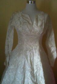 1950's Laura Phillips Wedding dress