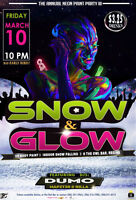 Neon Paint Party- SNOW & GLOW