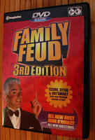 Family Feud 3rd Edition Interactive DVD Game, Like New