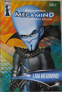 Qty 6 x Mega Mind Toy Figures & Book (Lot # 4)