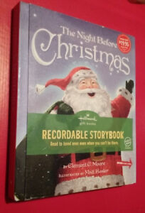 ▀▄▀Hallmark Recordable Storybook The Night Before Christmas