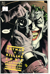 BATMAN THE KILLING JOKE COMIC THIRD PRINTING