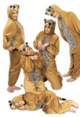Erdmännchen Plüsch Kostüm Overall Anzug Tiere Erdmännchenkostüm Kinder - Erdmännchen Kostüm