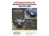 2009 Vauxhall Vectra Exclusiv Cdti 16v 2009 1.9