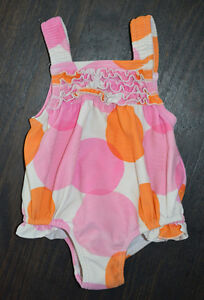 Carter's Baby Girl Frilled Bathing Suit 12M