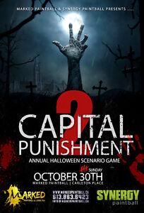 Capital Punishment Scenario Paintball Game