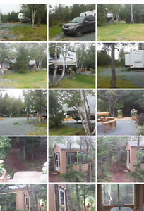Fully developed land cabin country 30 min from CBS
