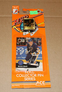 Pro Set 1991-92 hockey card and pin Strathcona County Edmonton Area image 3