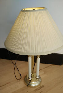 Various table lamps in good working condition $ 5 ea
