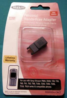 Belkin Personal Hands-Free Adapter for Sony Ericsson Phones F8V9004-CNCT (NOS) Belkin Hands Free Adapter