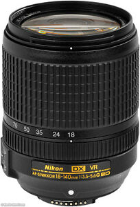 Nikon 18-140mm, almost new, bargain price at $500