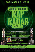 RAP RADAR (Vol. 1) at The Capital Complex
