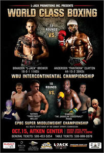 World class boxing frederiction