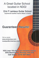 ***** GUITAR LESSONS (Effective Pedagogy)*****