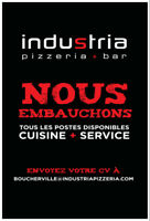 Industria boucherville is looking for cooks and  dishwashers ..