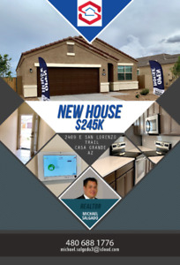 New Vacation Home in Casa Grande AZ 5 bed 3 bath $245k US