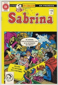 1981, SABRINA #50, 32 PAGES EN COULEUR