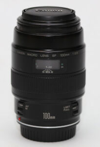canon macro lens ef 100mm 1:2.8 made in japan
