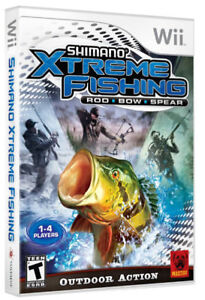 [Sport fishing game] Shimano Xtreme Fishing for Wii