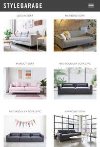 Brand new Gus Sofa - you select the sofa