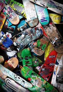 SKATEBOARDS WANTED