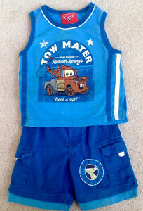 Disney Cars 'Tow Mater' Outfit - Excellent Condition!